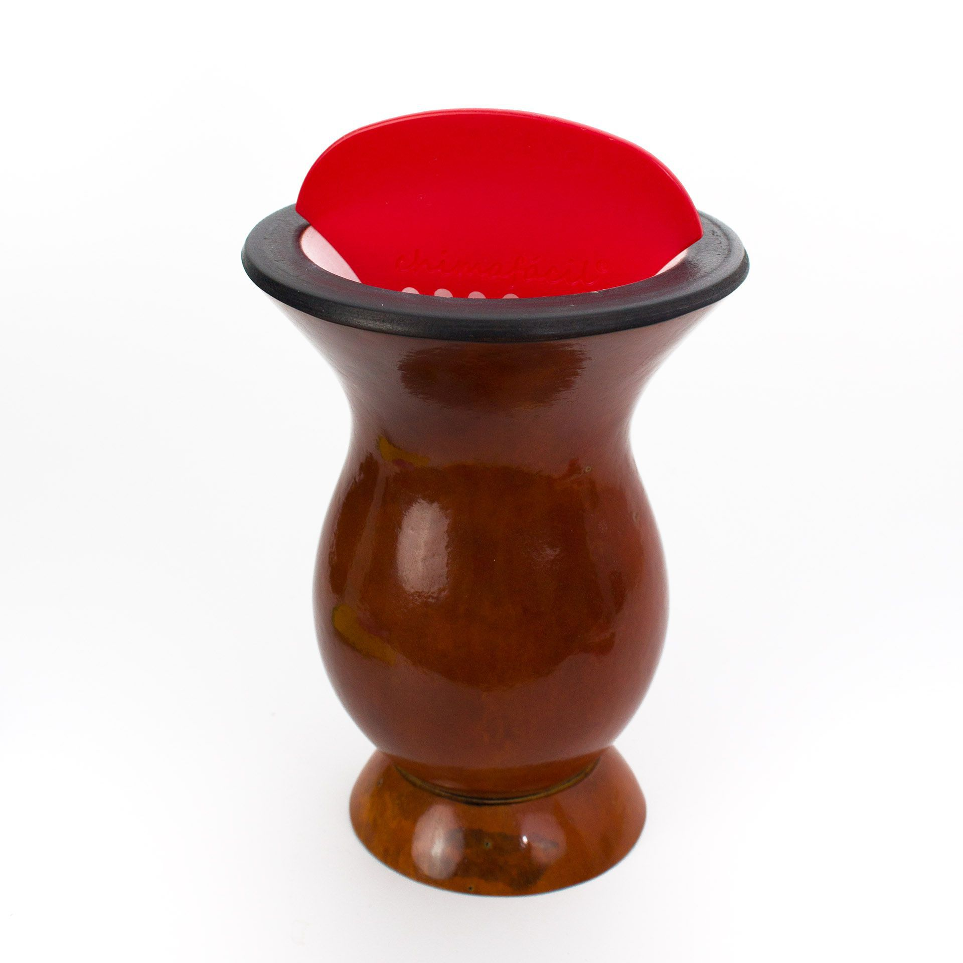 Kit Cevador de Chimarrão Chimafácil - Vermelho