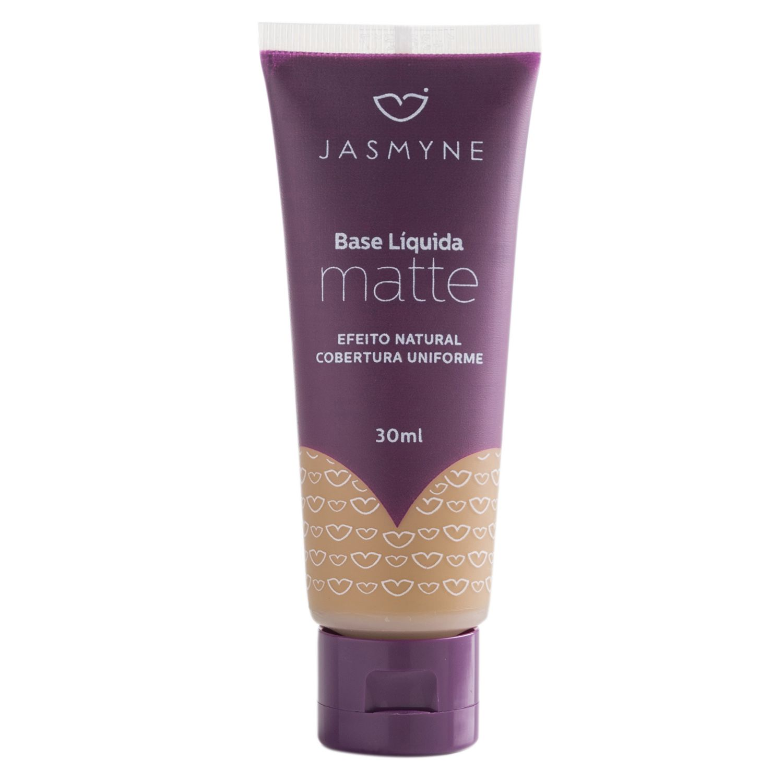 Base Líquida Matte Jasmyne Cor 02