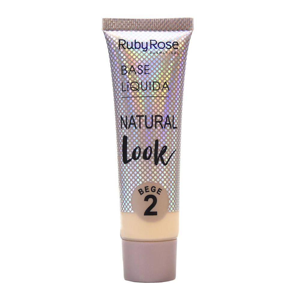 Base Líquida Natural Look Bege 2 Ruby Rose HB-8051