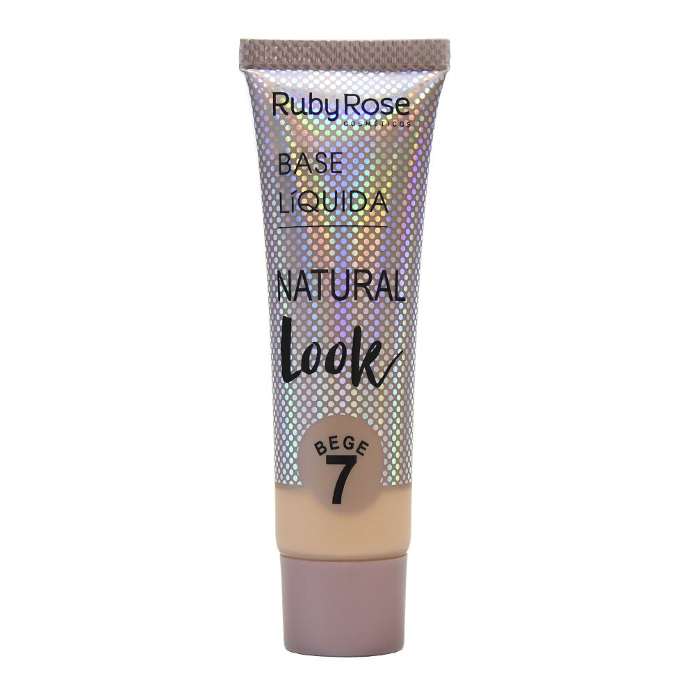 Base Líquida Natural Look Bege 7 Ruby Rose HB-8051