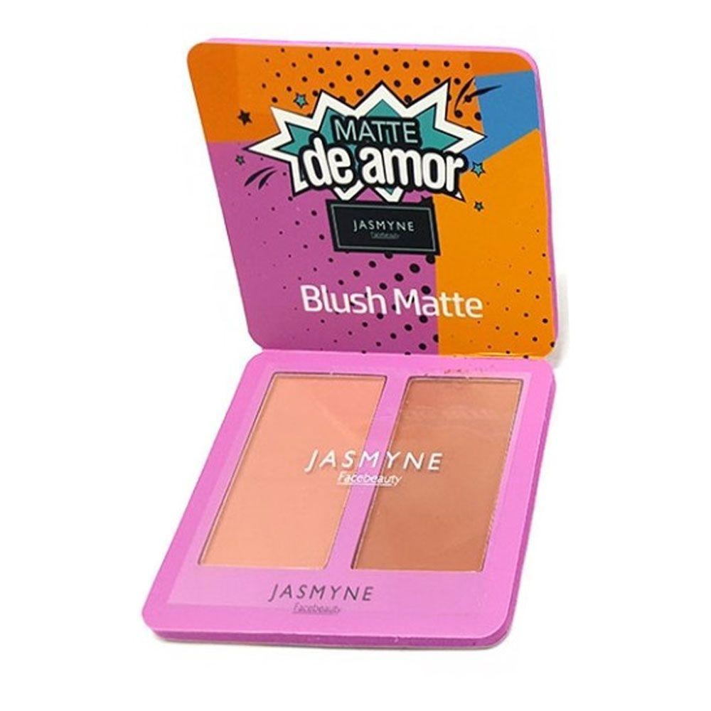 Blush Matte Jasmyne facebeauty Matte de Amor V6031 Cor A