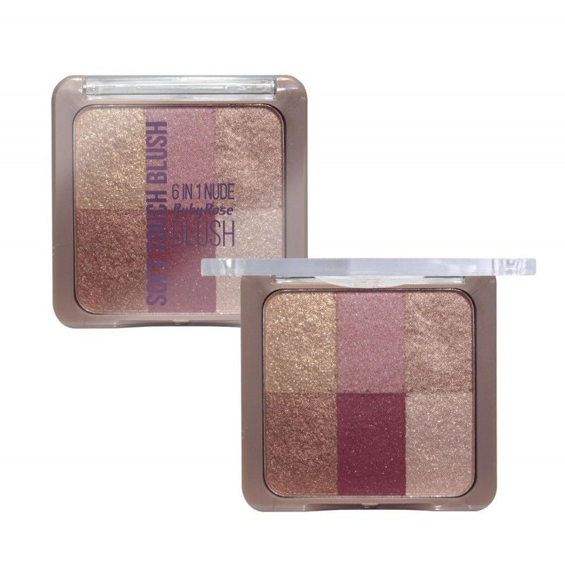 Blush Soft Touch 6 em 1 Ruby Rose HB-6109 - Cor 04