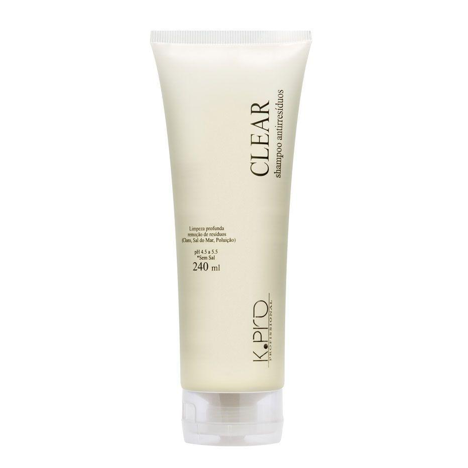 CLEAR K.Pro Shampoo Antiresíduos 240 ml