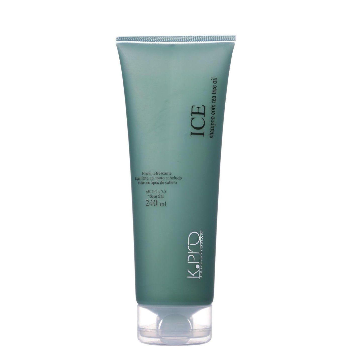 ICE K.Pro Shampoo com Efeito Refrescante 240 ml