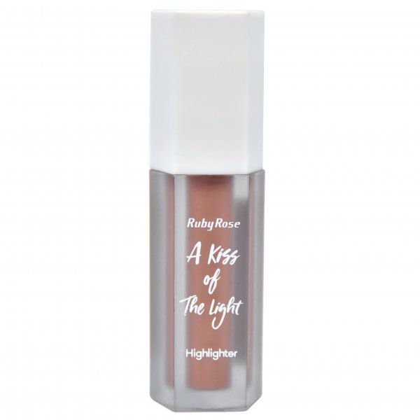 Iluminador Líquido A Kiss Of The Light Ruby Rose Rose Gold HB-8099  Cor 5
