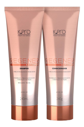 Kit REGENER K.Pro Shampoo e Condicionador