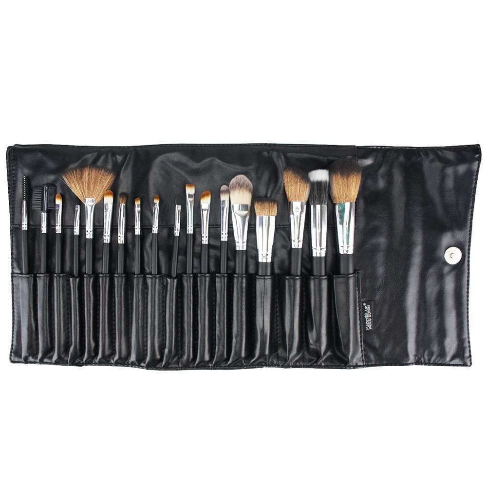 Kit 18 Pincéis Macrilan Para Maquiagem Profissional KP3-8A