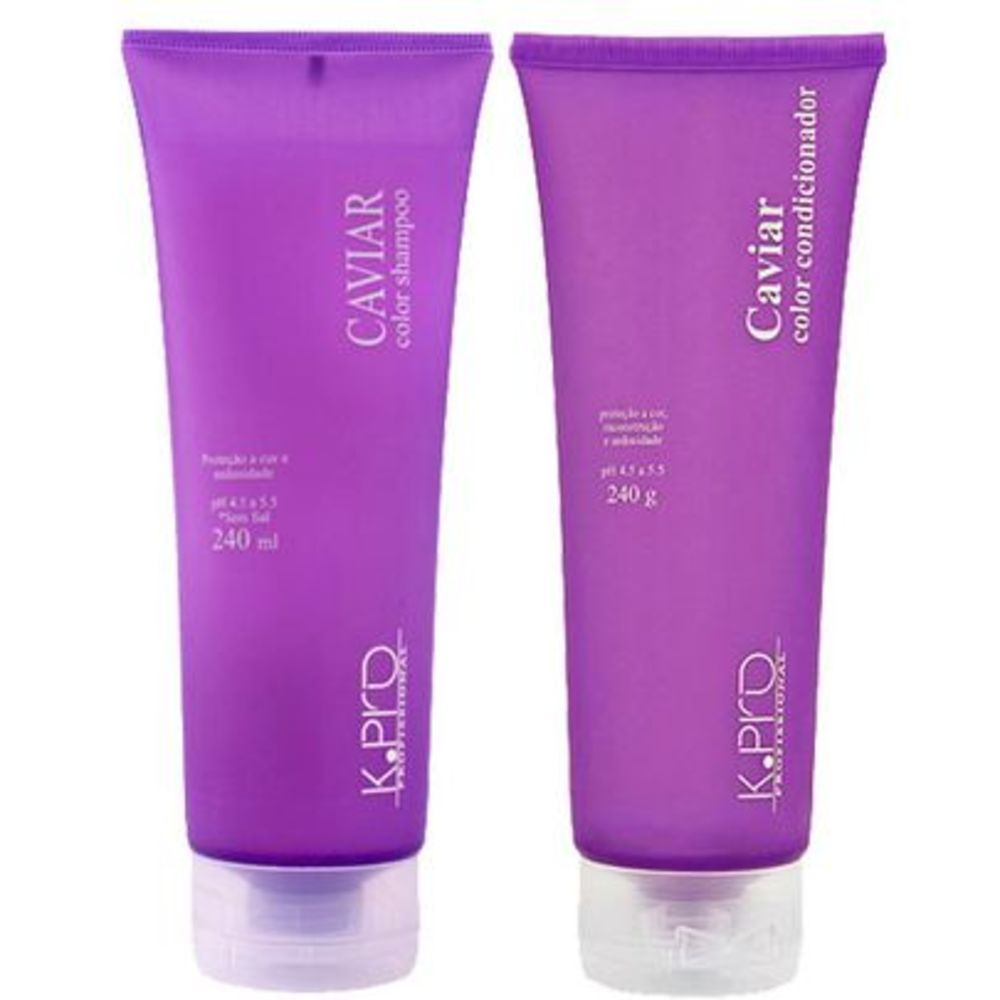 Kit Caviar Colors K.Pro Shampoo e Condicionador