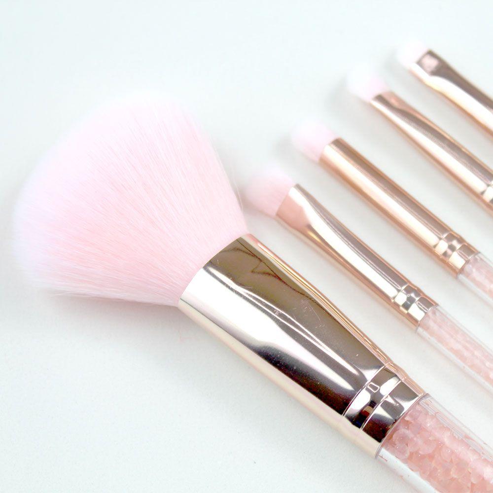 Kit de Pincel para Maquiagem com Necesseire Miss Frandy