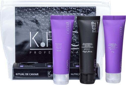 Kit CAVIAR K.Pro Nutrição e Equilíbrio 45ml