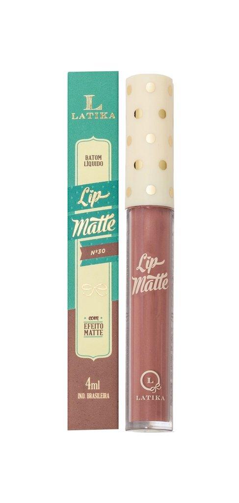 Latika Batom Liquido Matte Nude 4ml Cor 30