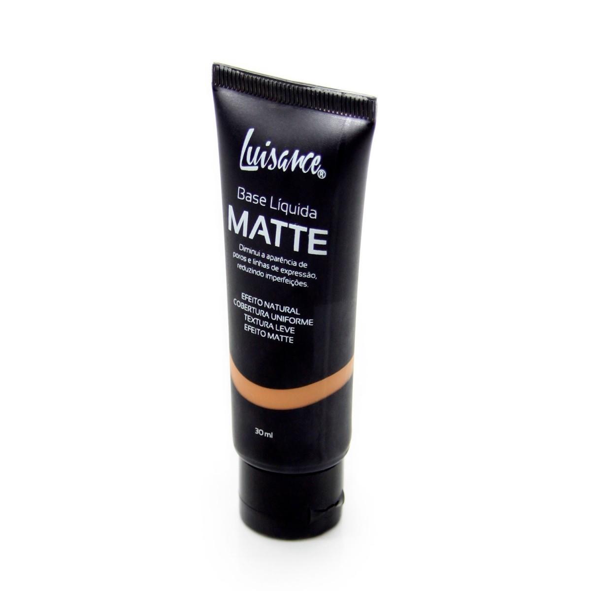 Luisance Base Líquida Matte  L5001A 30ml - Cores Claras
