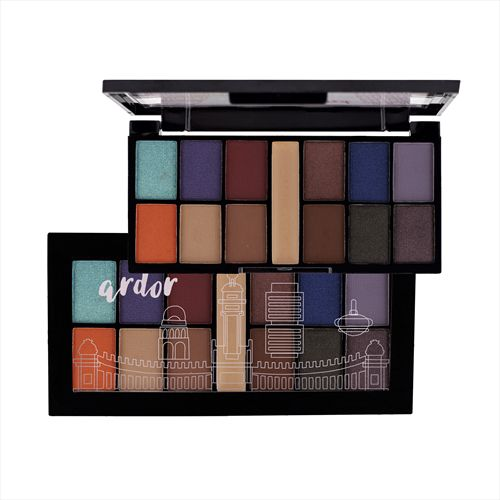 MINI KIT DE SOMBRAS ARDOR 11 RUBY ROSE HB-9985/11