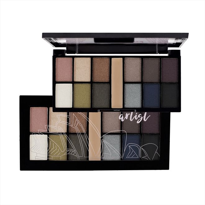 MINI KIT DE SOMBRAS ARTIST 7 RUBY ROSE HB-9985/7