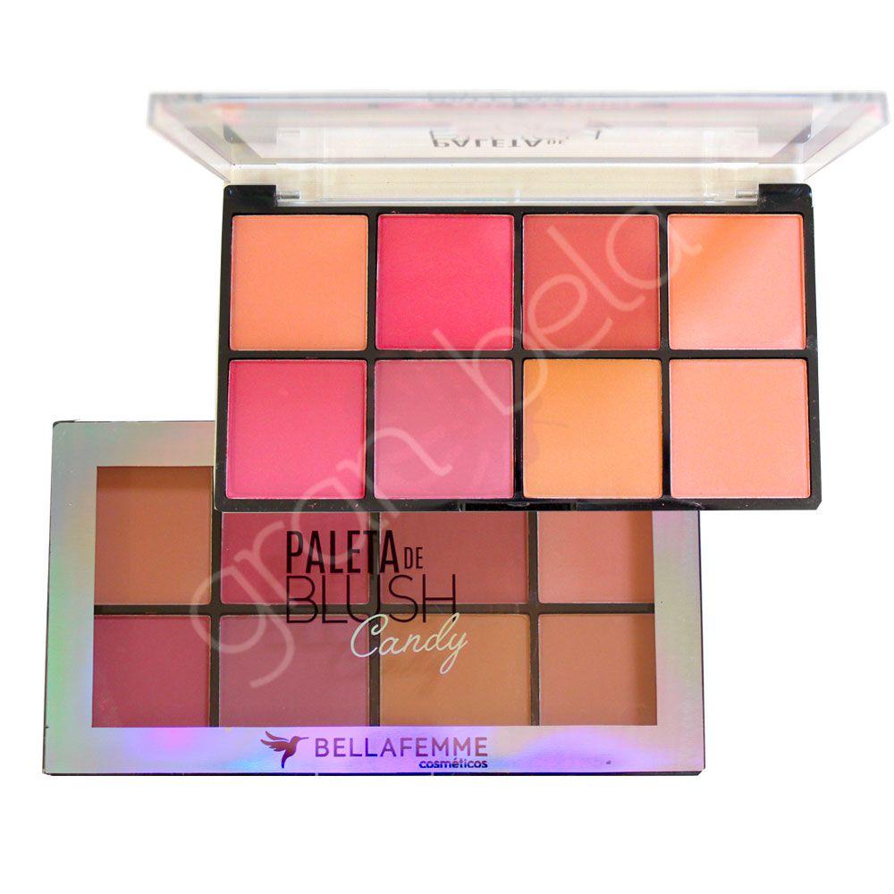 Paleta de Blush Candy Bella Femme BF10057