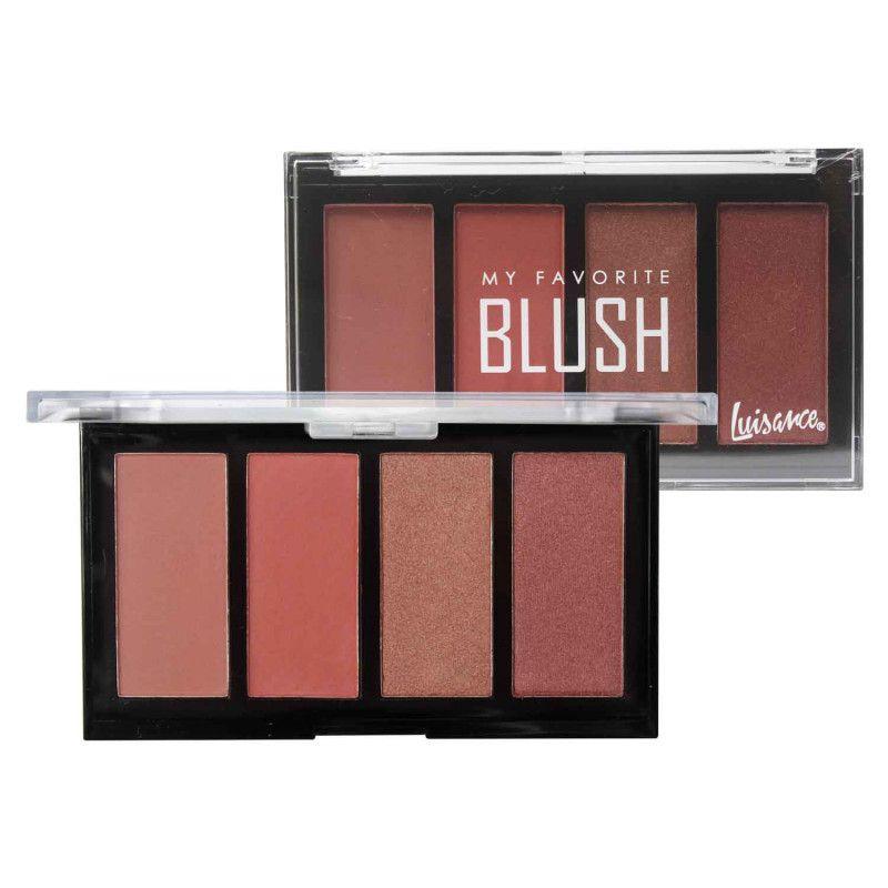 Paleta de Blush My Favorite Luisance L2017 Cor A