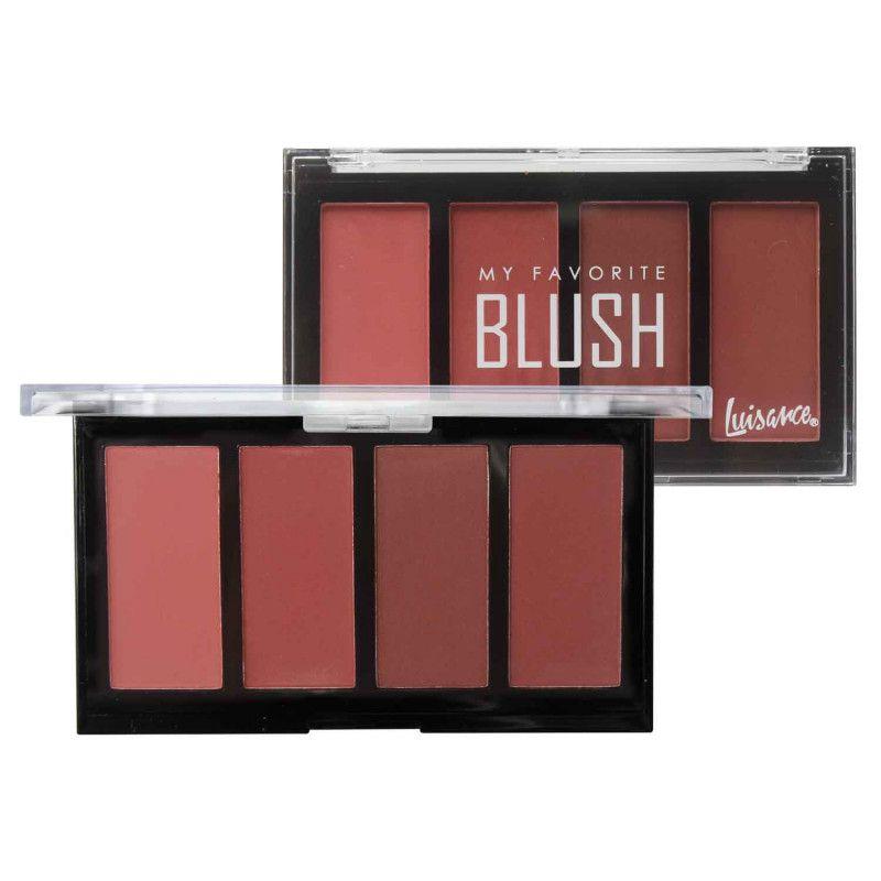 Paleta de Blush My Favorite Luisance L2017 Cor B