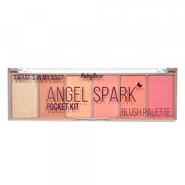 Paleta de Blush Ruby Rose Pocket Angel Spark HB-6108