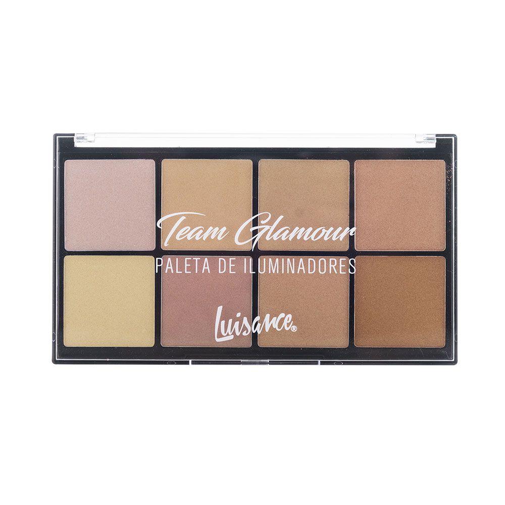 Paleta de Iluminadores Team Glamour Luisance L8007