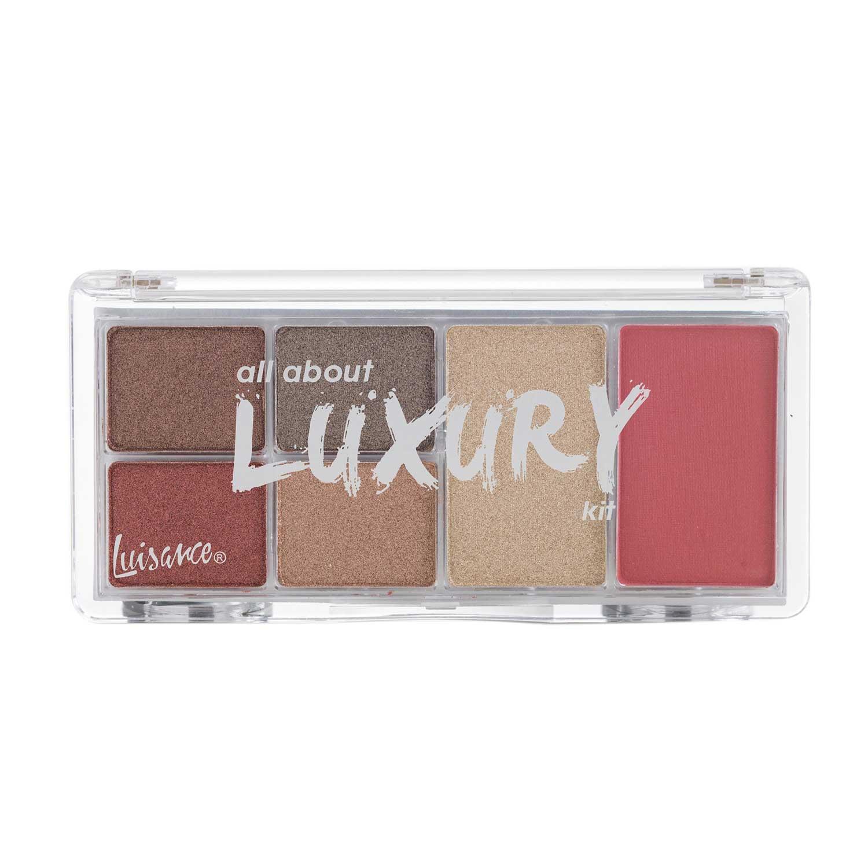 Paleta de Maquiagem All About Luxury Kit Luisance L2020 Cor A