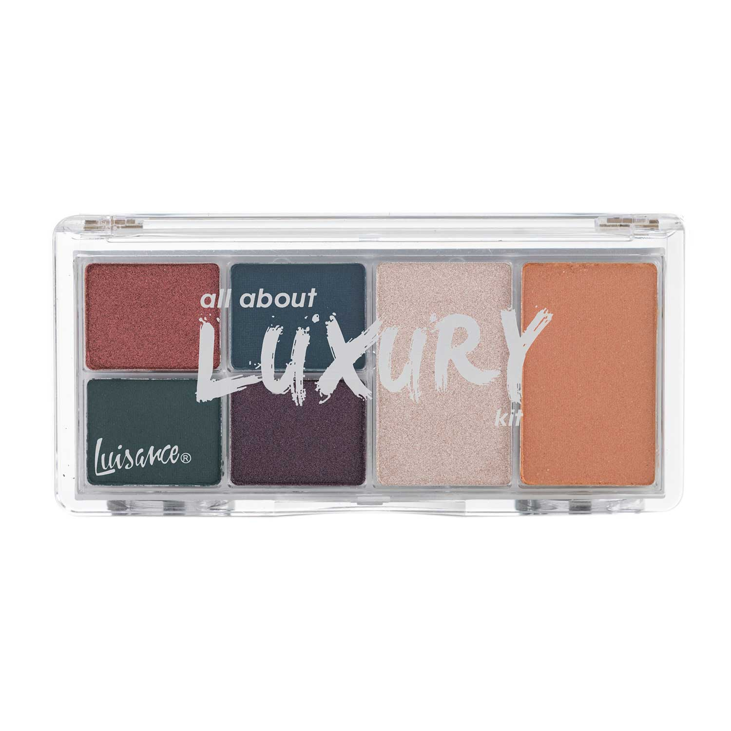 Paleta de Maquiagem All About Luxury Kit Luisance L2020 Cor B