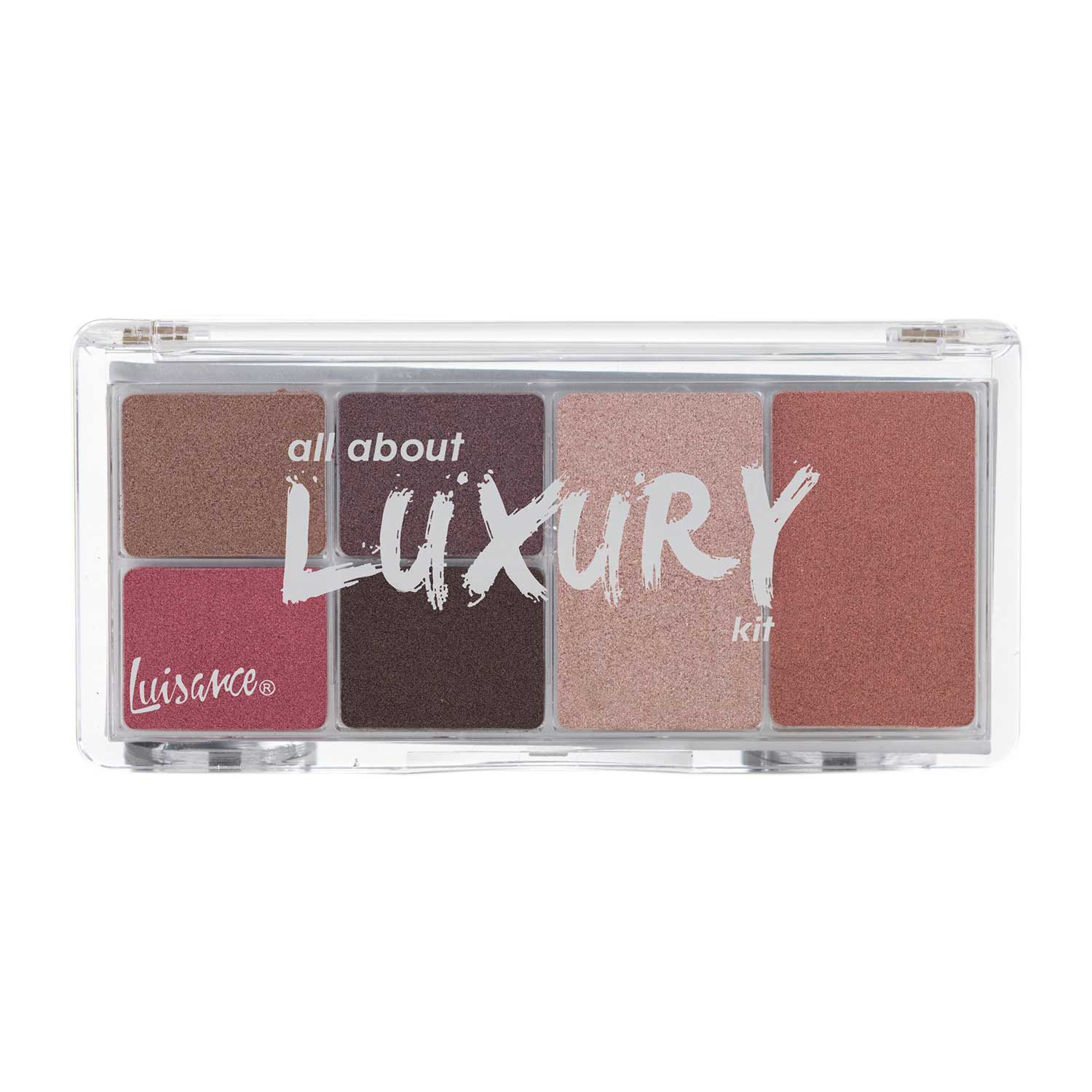 Paleta de Maquiagem All About Luxury Kit Luisance L2020 Cor C