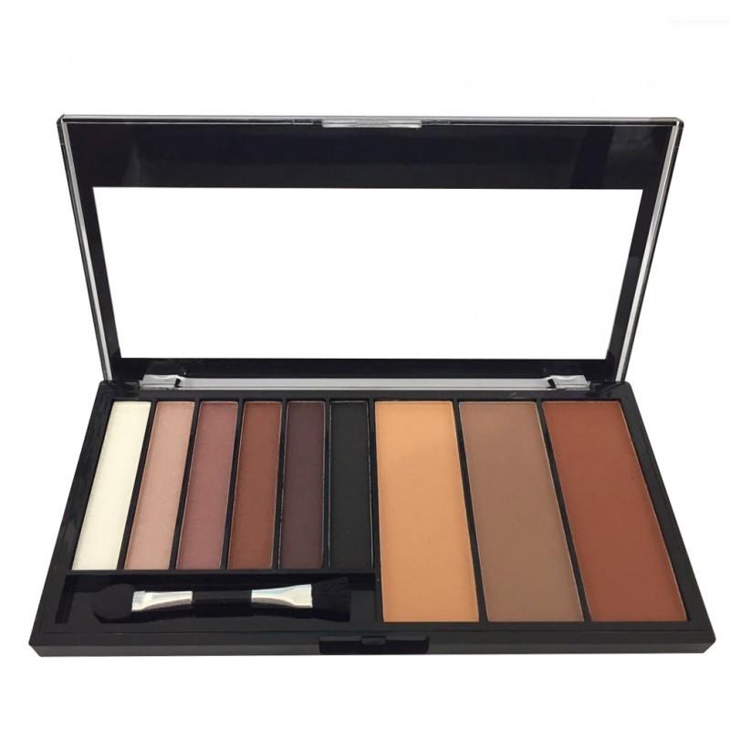 Paleta de Sombra e Pó Contorno Luisance Lovely Colors L6015 Cor A