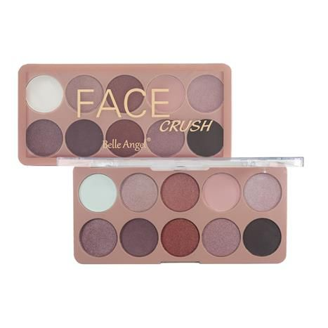 Paleta de Sombra Face Crush Belle Angel T003 Cor A