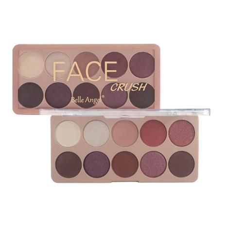 Paleta de Sombra Face Crush Belle Angel T003 Cor B