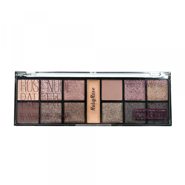 Paleta de Sombra Ruby Rose Pocket Rose Nude HB-9945