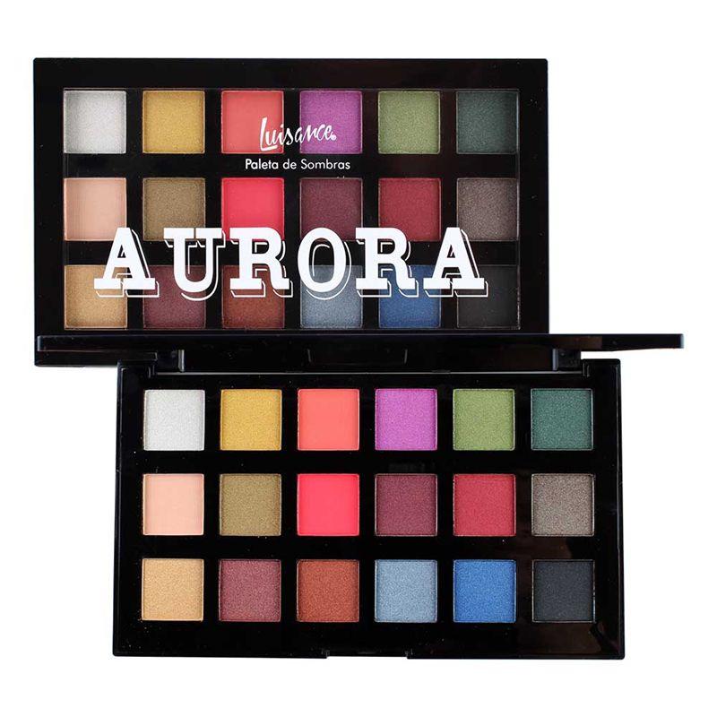 Paleta de Sombras Aurora Luisance L7109
