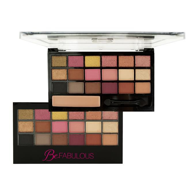 Paleta de Sombras Be Fabulous Ruby Rose HB-9931