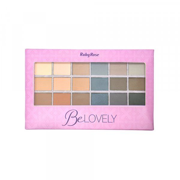 Paleta de Sombras Be Lovely Ruby Rose HB-9932