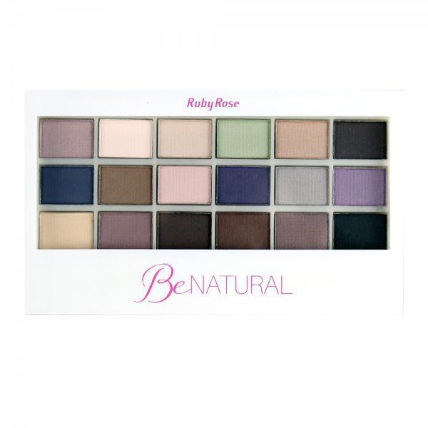 Paleta de Sombras Be Natural Ruby Rose HB-9930