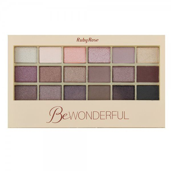 Paleta de Sombras Be Wonderful Ruby Rose HB-9925