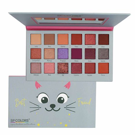 Paleta de Sombras Best Friend SP Colors SP
