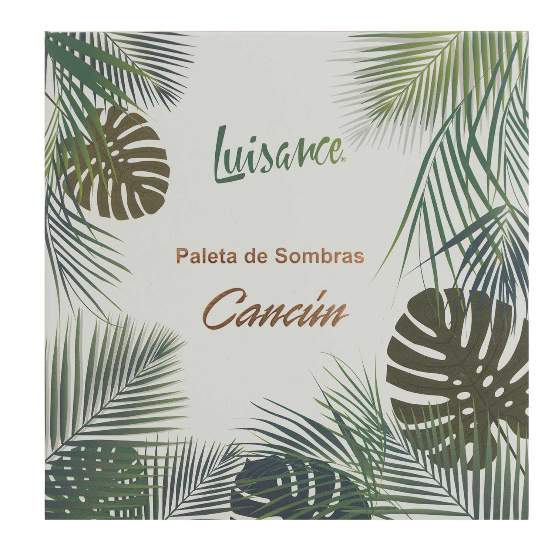 Paleta de Sombras Cancún Luisance L1065 Cor B