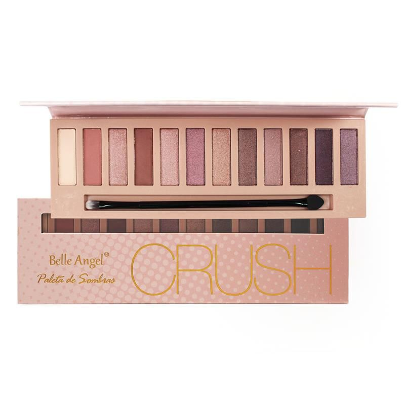 Paleta de Sombras Crush Rose Belle Angel T004