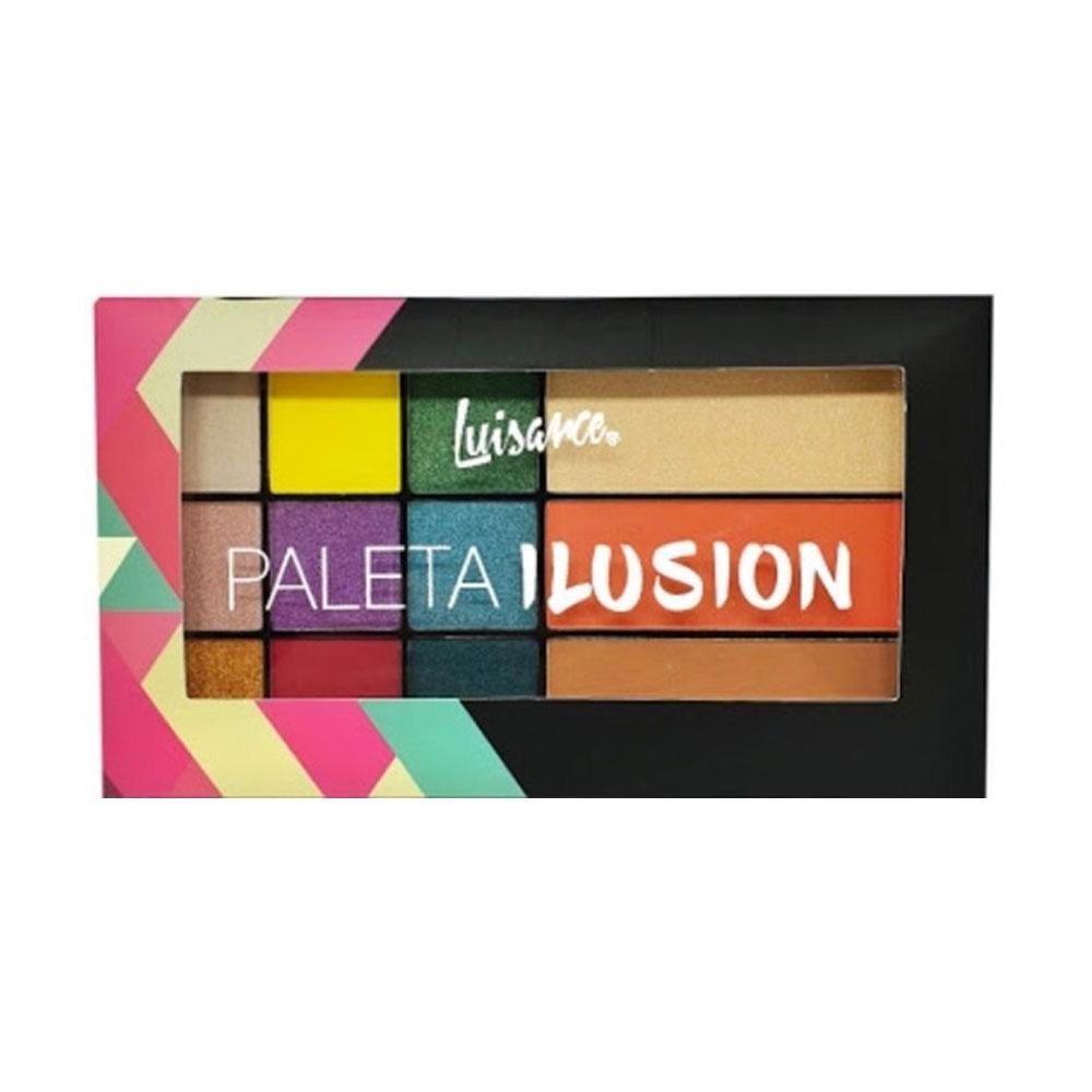Paleta de Sombras Ilusion Luisance L6056