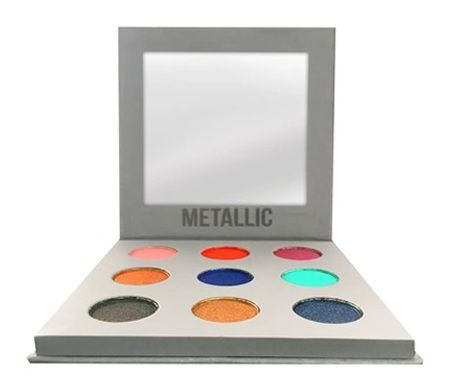 Paleta de Sombras Metalic Bella femme BF10068
