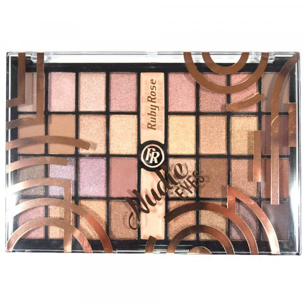 Paleta de Sombras Nude Eyes Ruby Rose HB-9976