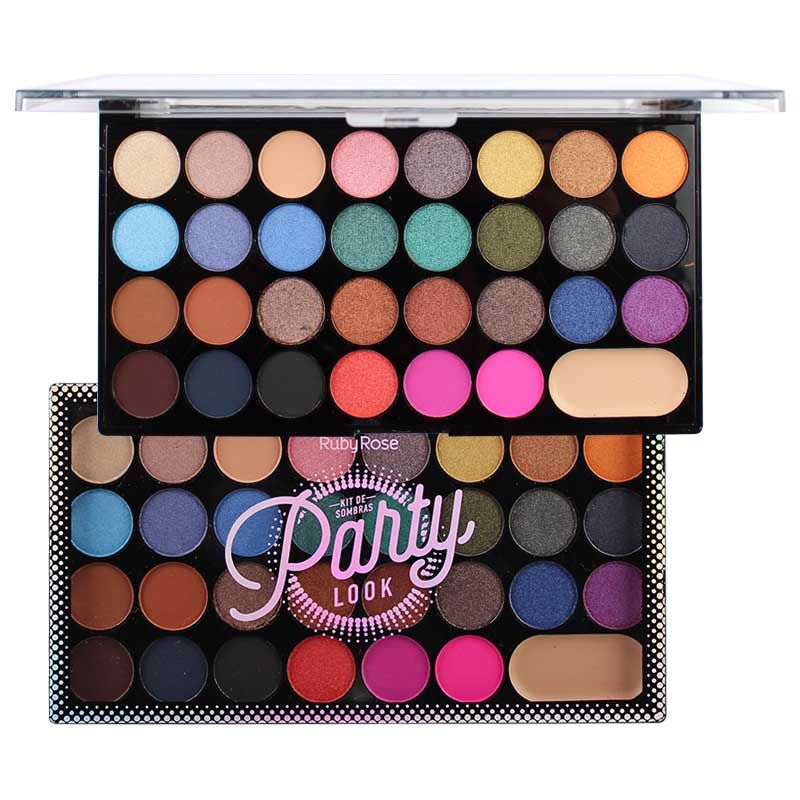 Paleta De Sombras Party Look Ruby Rose HB-1044