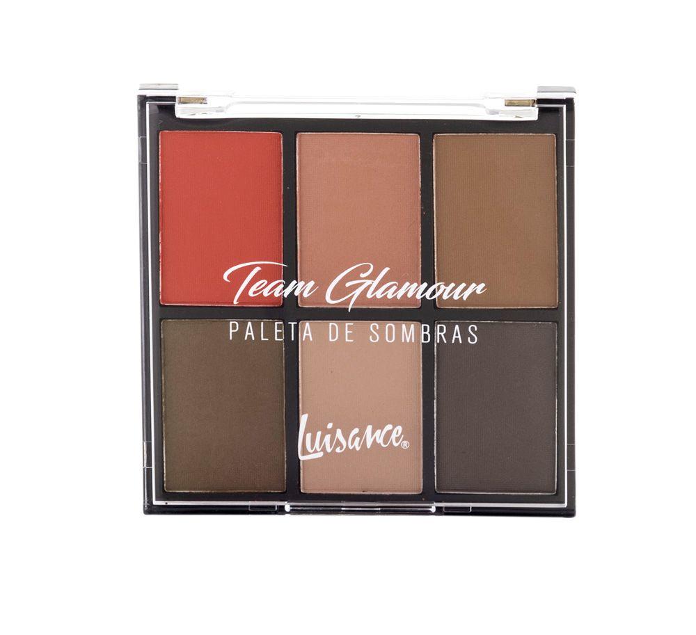 Paleta de Sombras Team Glamour Luisance L8003 Cor B