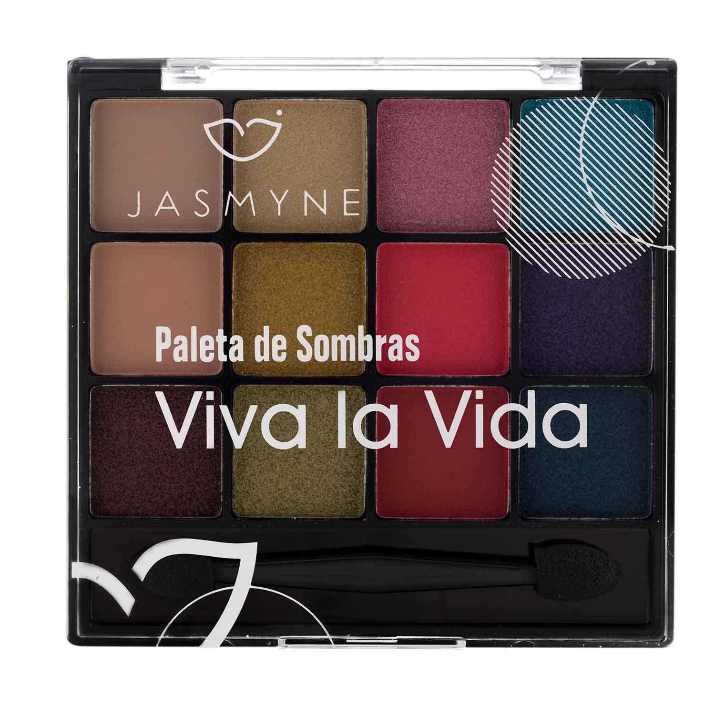 Paleta de Sombras Viva la Vida Jasmyne Cor B