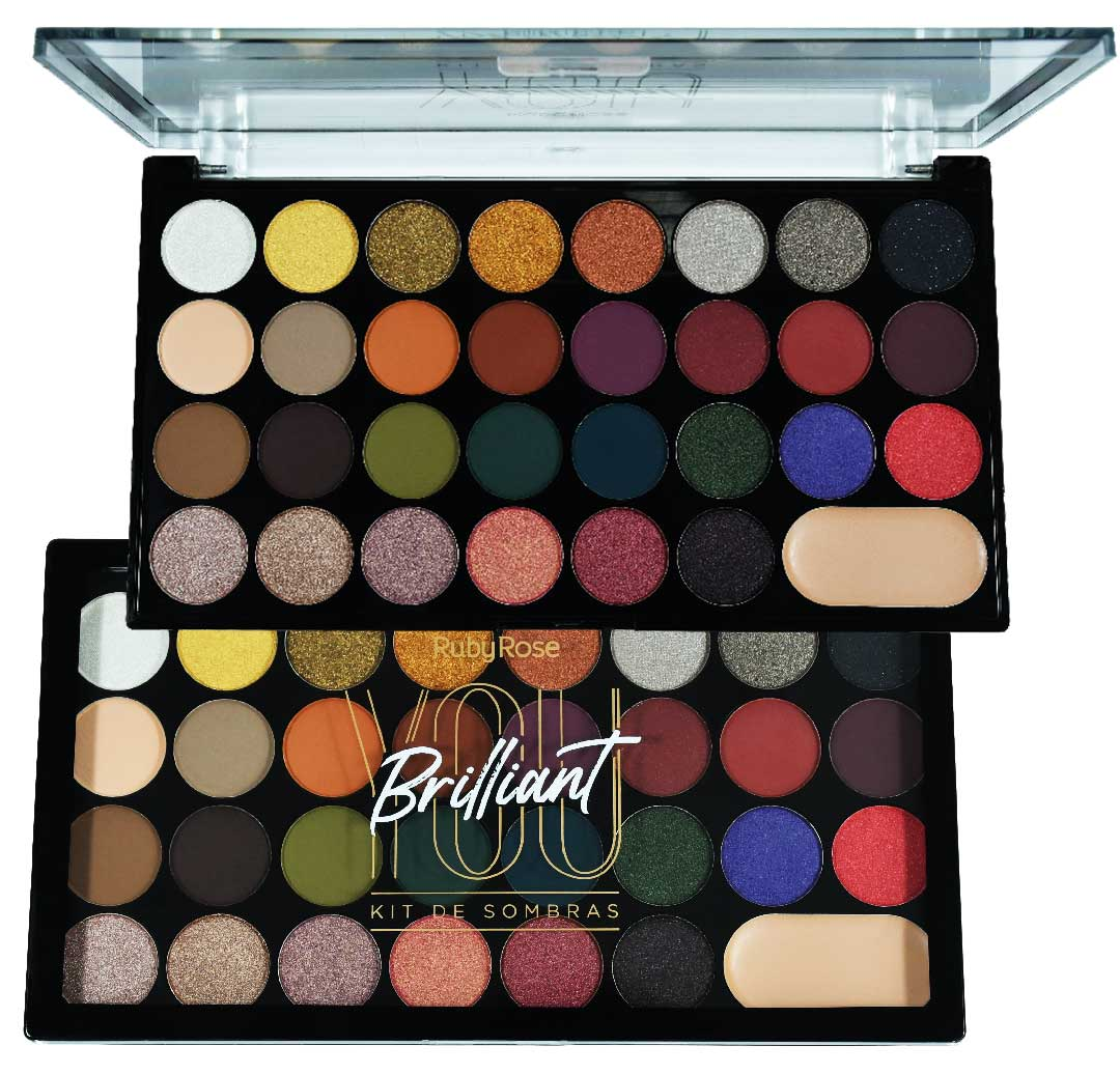 Paleta De Sombras You Brilliant Ruby Rose HB-1043
