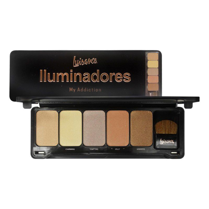 Paleta Iluminador My Addiction Luisance L786