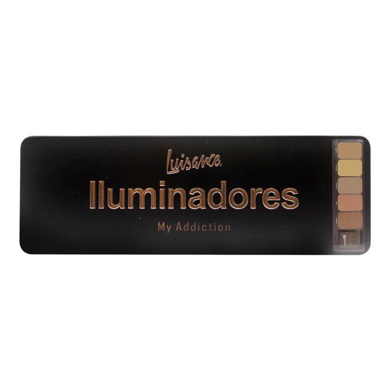Paleta Iluminador My Addiction Luisance L786