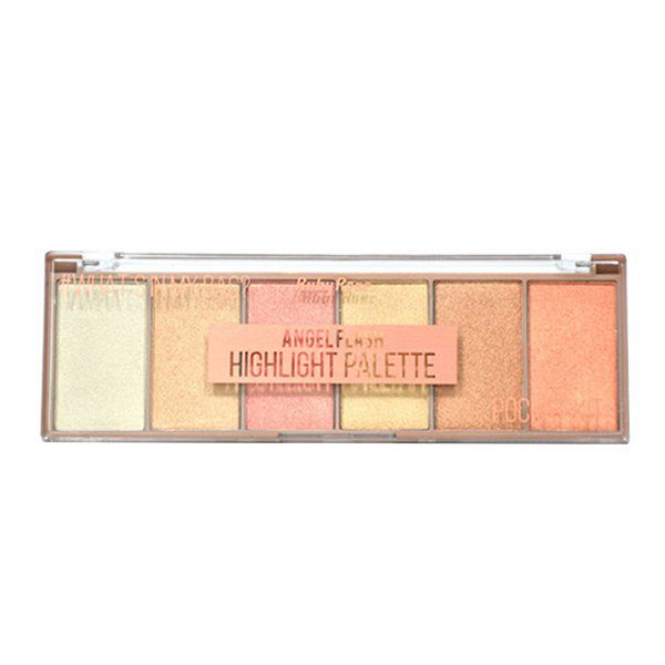 Paleta Iluminador Pocket Angel Flash Ruby Rose HB-7513