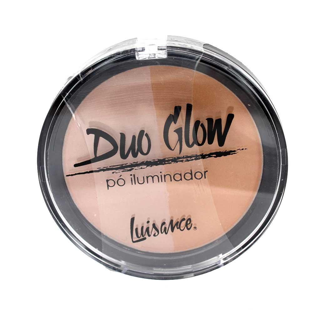 Pó Iluminador Luisance Duo Glow L2013 Cor A