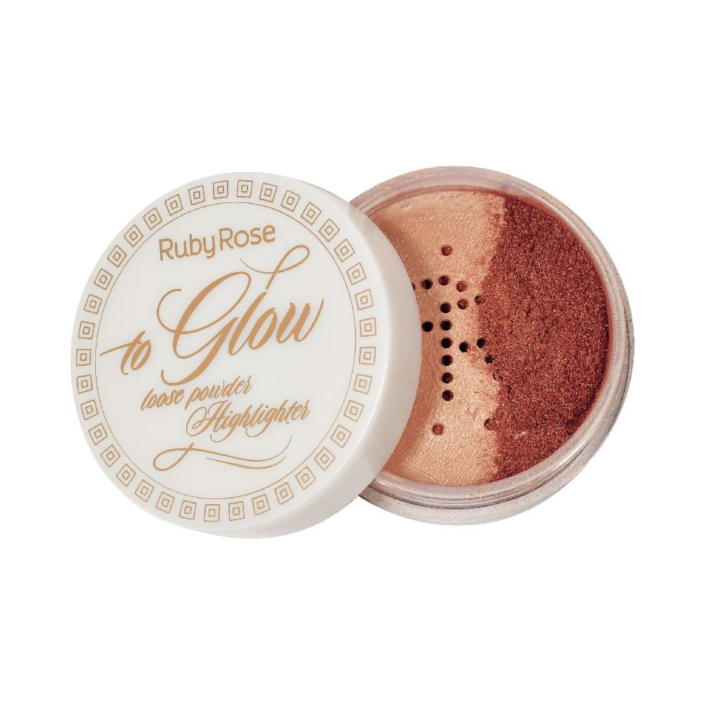 Pó Iluminador To Glow Hottie 5 Ruby Rose HB-7227